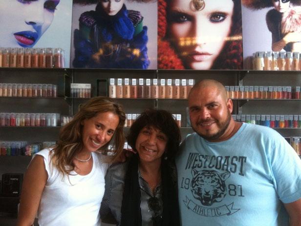 Bruna Nogueira, Marlene Moura, Levi Veiria