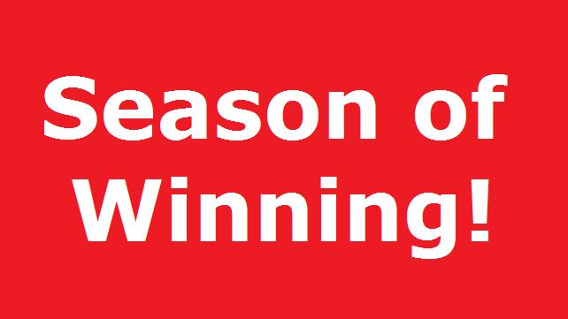 season of winning
