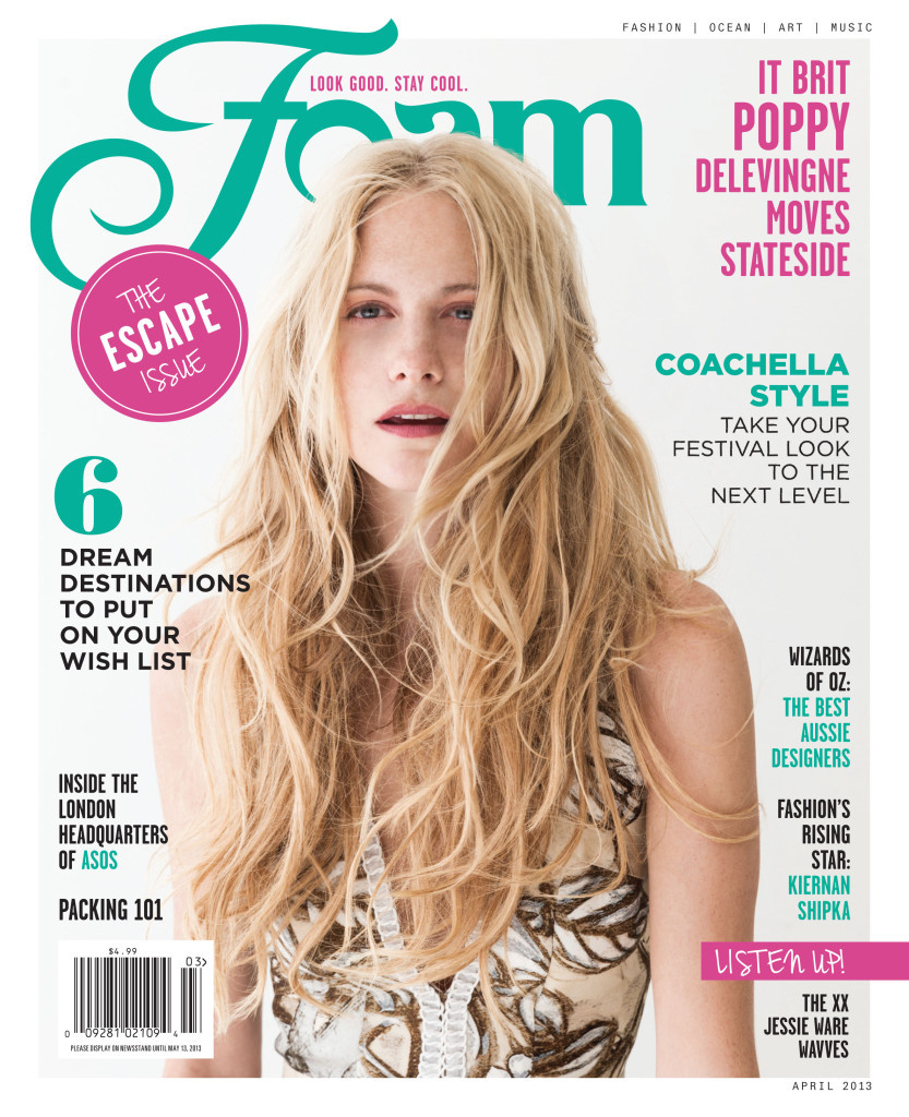 TEMPTU on Foam Magazine cover