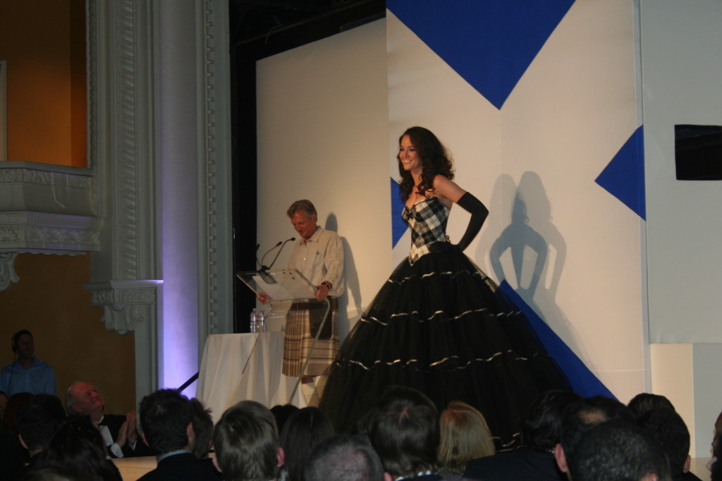TEMPTU Scotland Fashion Show