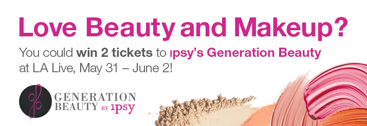 TEMPTU AIRbrush at Generation Beauty by ipsy June 1 -2 2013