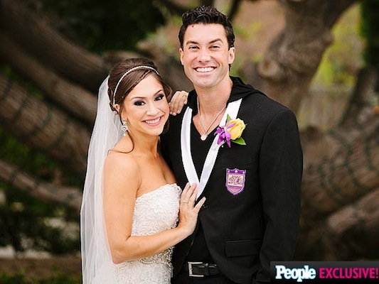 Diana DeGarmo wears TEMPTU AIRpod Foundation for her wedding