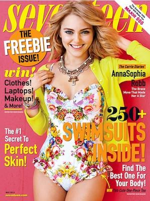 TEMPTU in Seventeen Magazine
