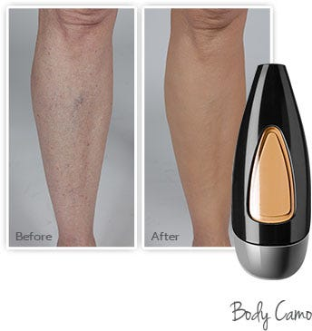 how to airbrush your body & legs